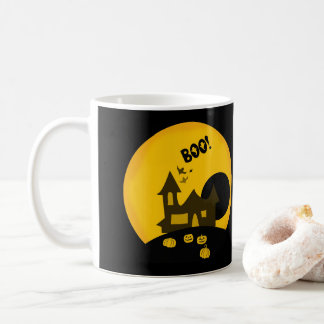 Halloween Left or Right Handed - 11 oz Classic Mug