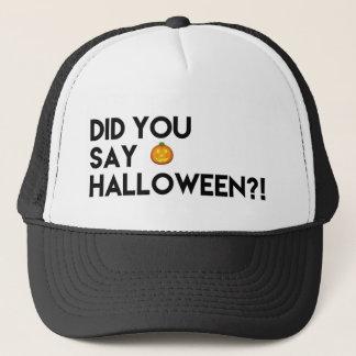 Halloween Lover's Trucker Hat