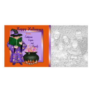 Halloween  Magic Picture Card