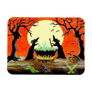 """Halloween magnet """"Escaping """"Ingredients"""""""
