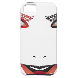 Halloween Makeup iPhone 5 Case