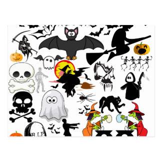 Halloween Mashup Postcard