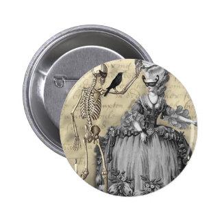 Halloween Masquerade Ball 6 Cm Round Badge
