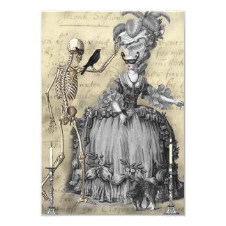 Halloween Masquerade Ball RSVP Card