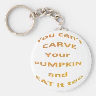 Halloween message key ring