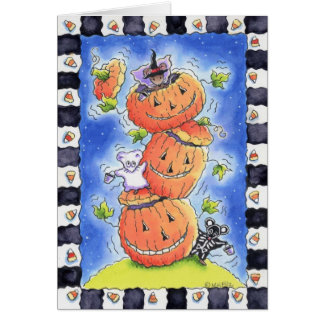 Halloween Mice Card