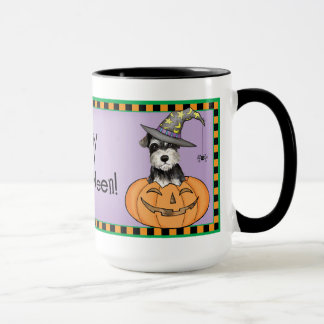 Halloween Miniature Schnauzer Mug