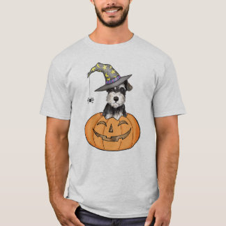 Halloween Miniature Schnauzer T-Shirt