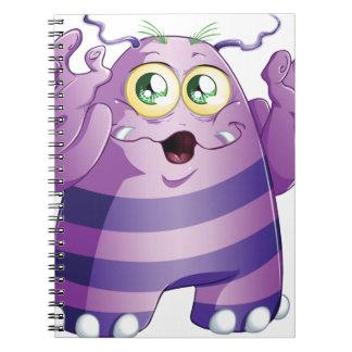 Halloween Monster 2 Spiral Notebooks