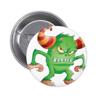 Halloween Monster 3 6 Cm Round Badge