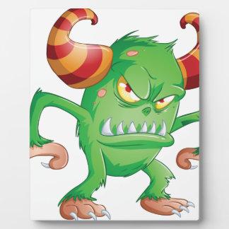Halloween Monster 3 Display Plaque
