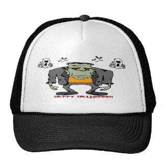 Halloween Monster Mesh Hats