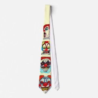 HALLOWEEN MONSTER CLOWNS tie