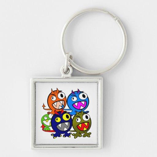 Halloween Monster Friends Key Chain
