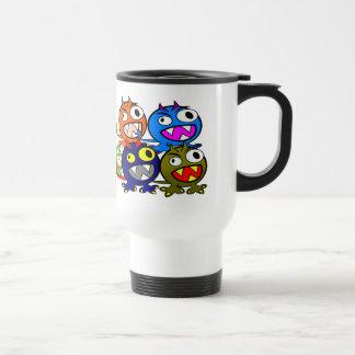 Halloween Monster Friends Mugs