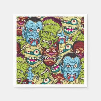 Halloween Monster Mash Paper Napkin