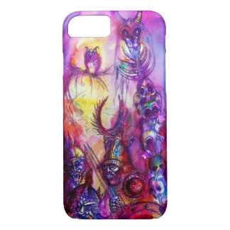HALLOWEEN MONSTERS / ORC WAR Red Purple Fantasy iPhone 8/7 Case