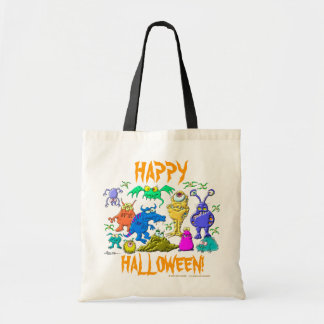 Halloween Monsters Budget Tote Bag