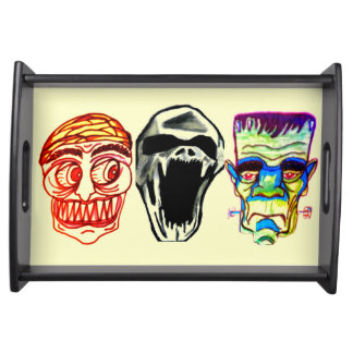HALLOWEEN MONSTERS tray