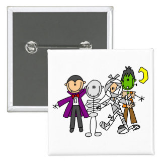 Halloween Monsters Tshirts and Gifts Pin