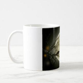 Halloween moon. coffee mug