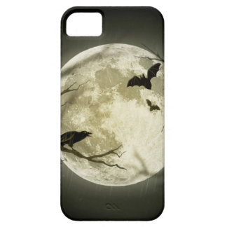 Halloween moon - full moon illustration barely there iPhone 5 case