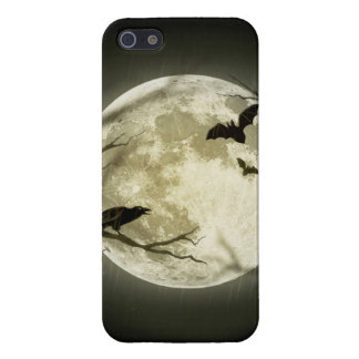 Halloween moon - full moon illustration cover for iPhone 5/5S