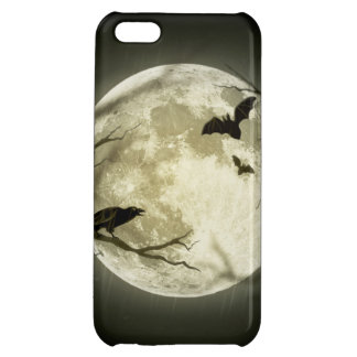 Halloween moon - full moon illustration cover for iPhone 5C