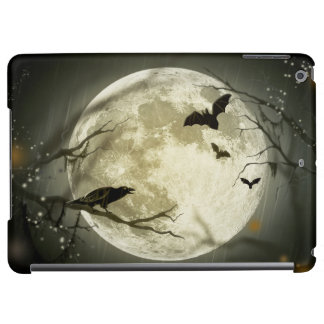 Halloween Moon Spooky Crows