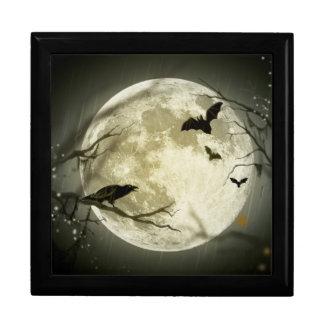 Halloween Moon Spooky Crows Gift Box