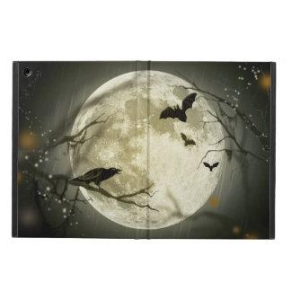 Halloween Moon Spooky Crows iPad Air Case