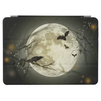 Halloween Moon Spooky Crows iPad Air Cover