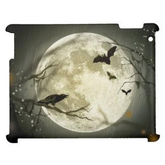 Halloween Moon Spooky Crows iPad Cases