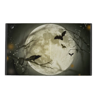 Halloween Moon Spooky Crows iPad Cover