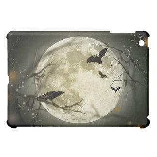 Halloween Moon Spooky Crows iPad Mini Cover