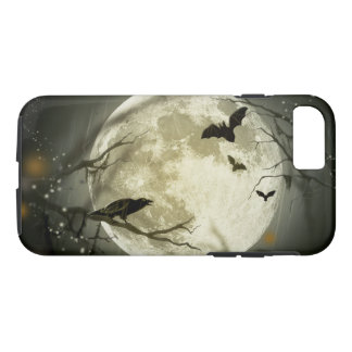 Halloween Moon Spooky Crows iPhone 7 Case