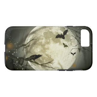 Halloween Moon Spooky Crows iPhone 8/7 Case