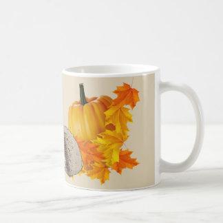 Halloween Mug - Pumpkins & Hedgehogs