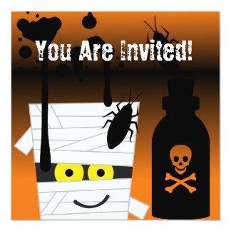 Halloween Mummy Party Invitation