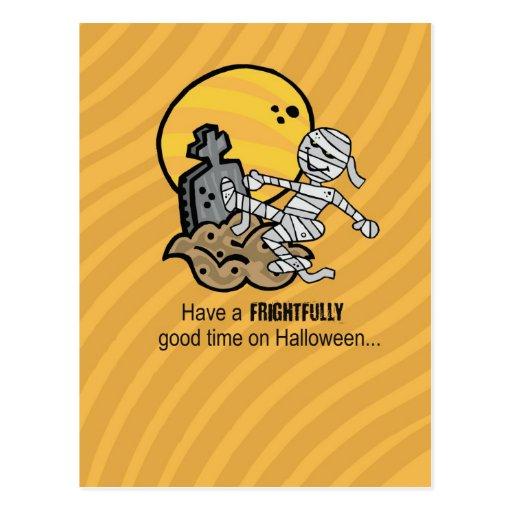 Halloween Mummy Post Cards