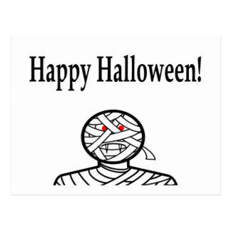 Halloween Mummy Postcard