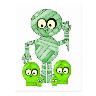 Halloween Mummy Postcards