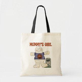 Halloween Mummy's Girl Trick Or Treat Bag