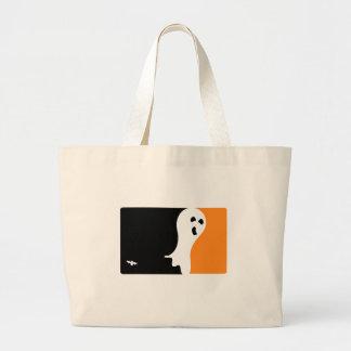 Halloween MVP Ghost Logo Jumbo Tote Bag