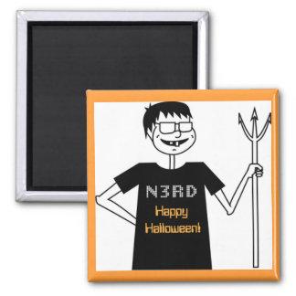 Halloween Nerd Magnet