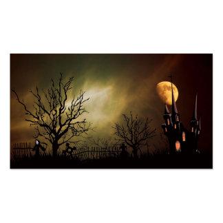 Halloween Night Business Card