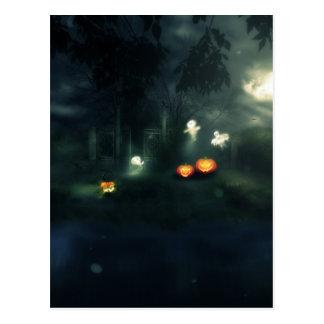Halloween Night Gate2 Postcard