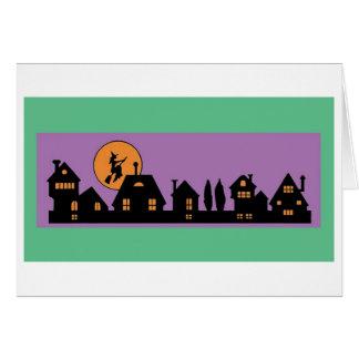 Halloween Night Greeting Card