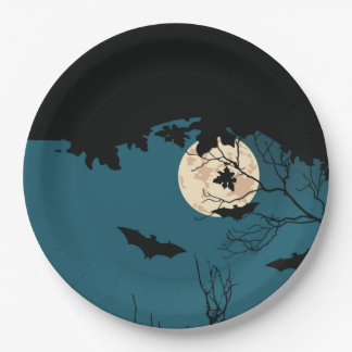 Halloween Night Halloween Party Paper Plates 9 Inch Paper Plate