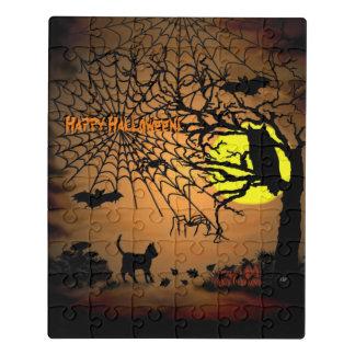 Halloween Night , Happy Halloween! Jigsaw Puzzle